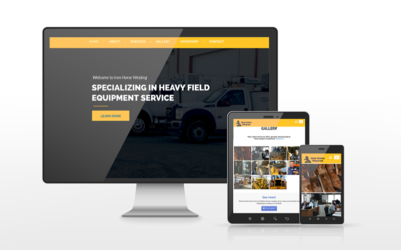 Iron Horse Welding Website Build