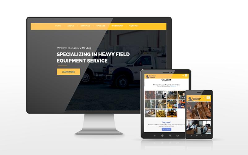 Iron Horse Welding Website Build